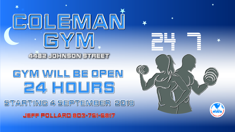 Coleman Gym 24 Hours